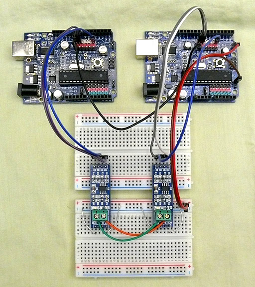 RS-485 Module For Arduino (MAX485