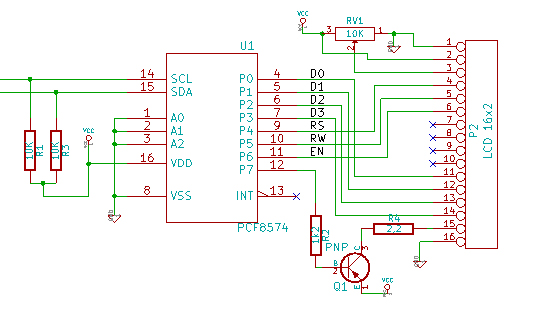 I2c Iic Twi To Parallel Output Module